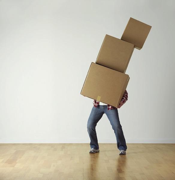 荷物を運ぶイメージ