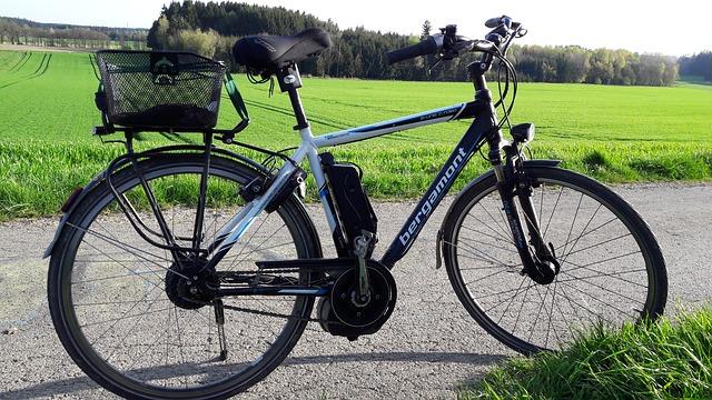 車の代わりの自転車