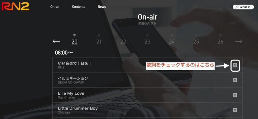 RN2ホームページ