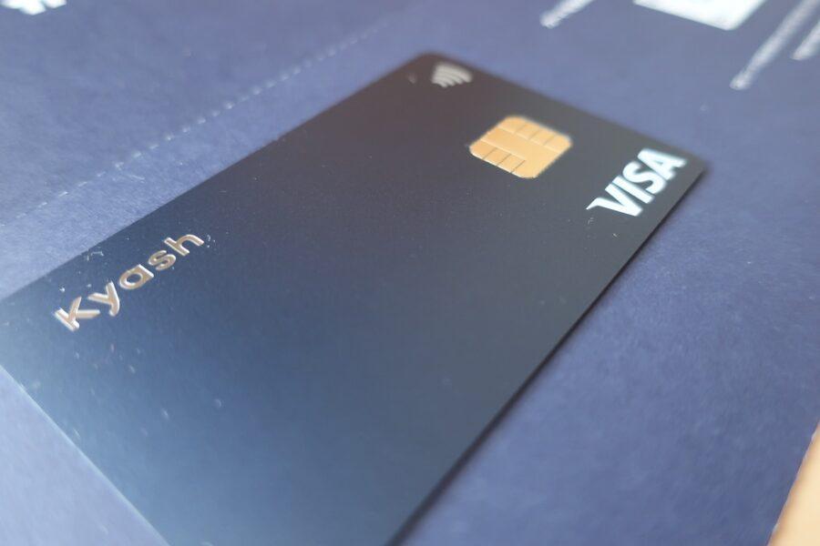 Kyash card Navy2